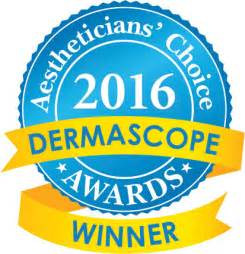 Aestheticians' Choice Awards 2016 Dermascope Winner